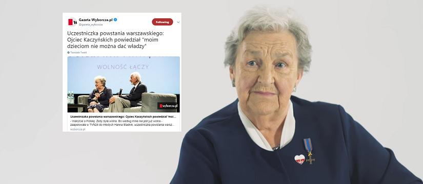 """f66d0b45af To nieprawdopodobne! """"Gazeta Wyborcza"""" wykorzystuje nawet 74. rocznicę  Powstania Warszawskiego"""