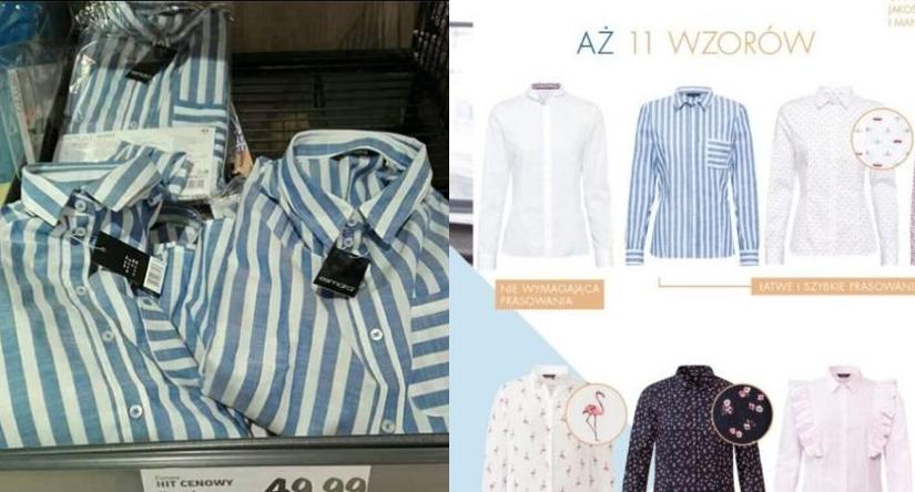 Lidl reaguje na tekst wPolityce.pl: Koszula w paski jest  GOKiY