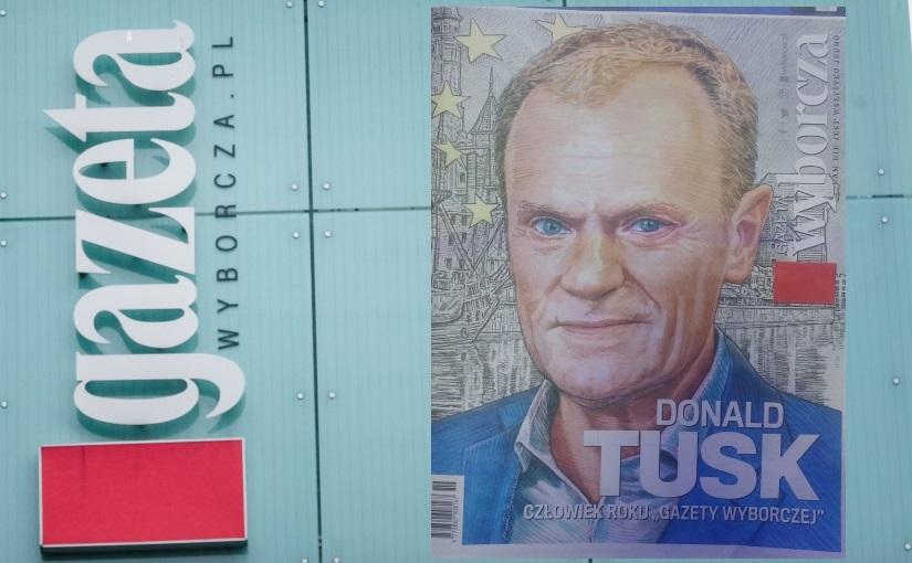 """""""Gazeta Wyborcza"""" Już Drukuje Plakaty Wyborcze Tuska? Szef"""