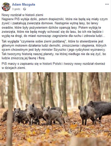 autor: fot.Facebook/Adam Mazguła