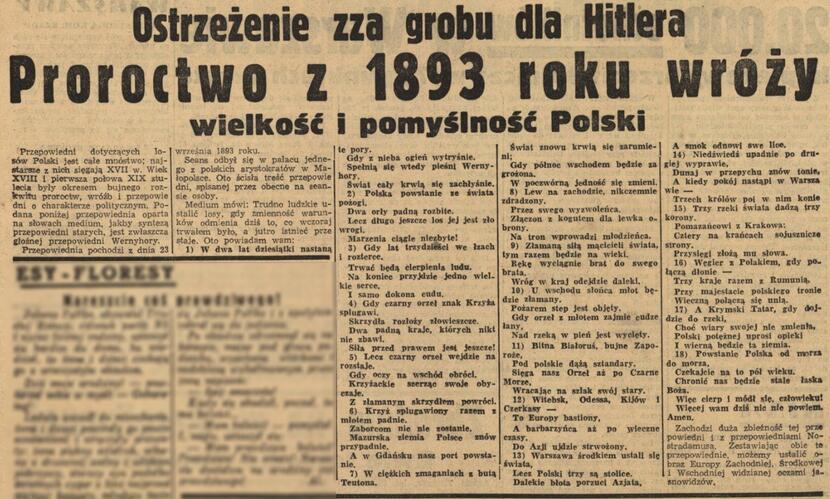 autor: Tekst opublikowany w marcu 1939 r. w