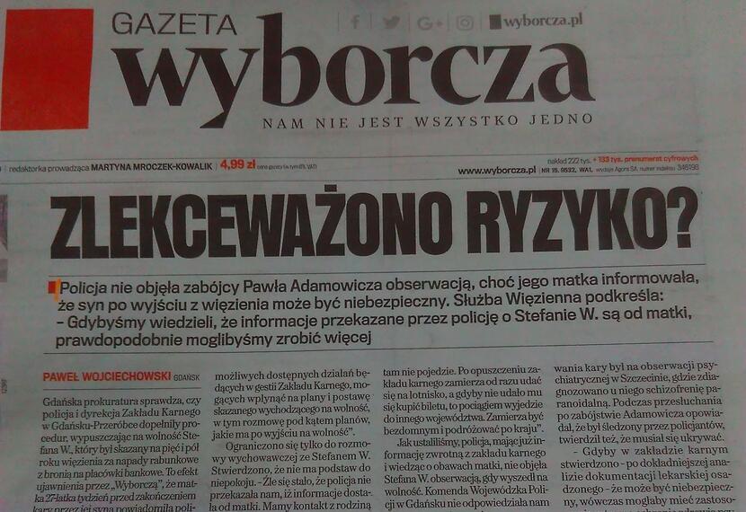 autor: wPolityce.pl/Gazeta Wyborcza