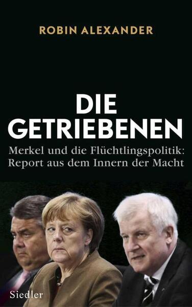 Die Getriebenen -okłądka książki / autor: Siedler Verlag