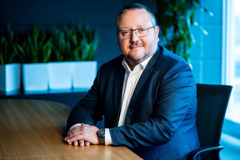 Ryszard Hordyński, dyrektor ds. strategii i komunikacji w Huawei Polska / autor: Huawei Polska