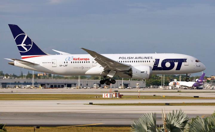 Boeing 787-8 Dreamliner LOT  / autor: Wikipedia