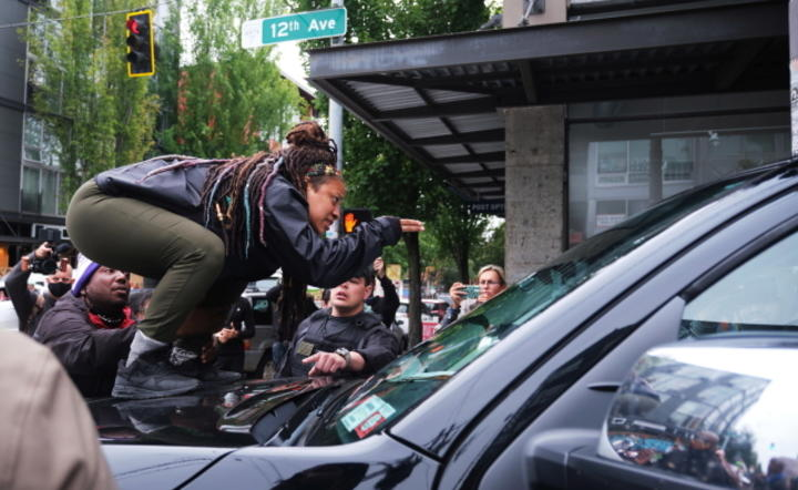 Seattle, Black Lives Matter 'Occupied Protest / autor: EPA/PAP