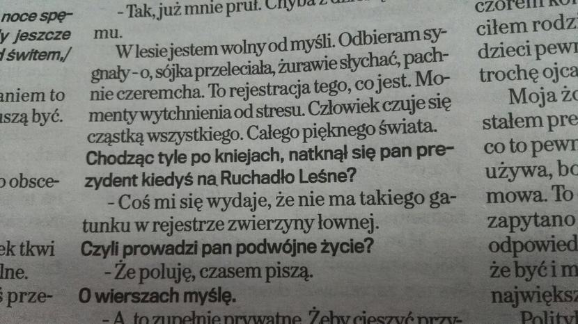 Ruchadło Leśne / autor: wPolityce.pl/Gazeta Wyborcza
