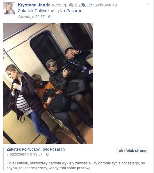 fot. Facebook/Krystyna Janda