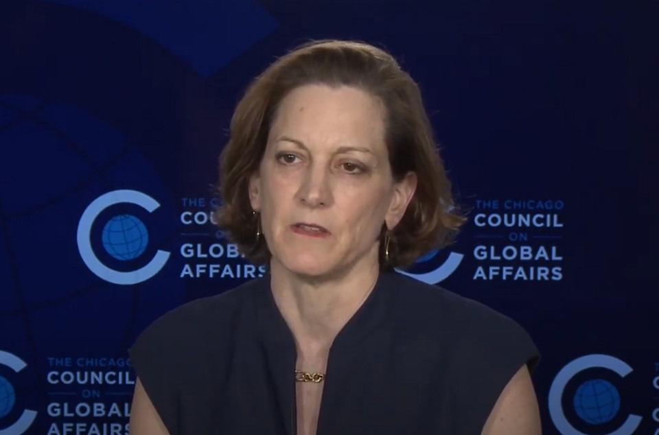 Anne Applebaum / autor: screen/ YouTube/ Chicago Council on Global Affairs