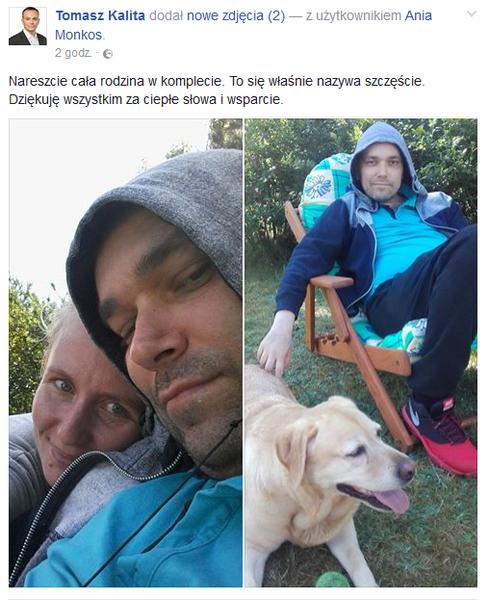 fot.Facebook/Oficjalny profil Tomasz Kality