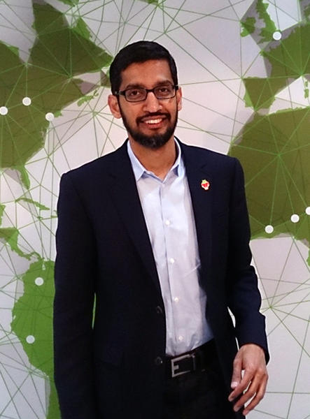 Szef Google Sundar Pichai / autor: By Maurizio Pesce from Milan, Italy - https://www.flickr.com/photos/pestoverde/15059553219/, CC BY 2.0, https://commons.wikimedia.org/w/index.php?curid=42454832