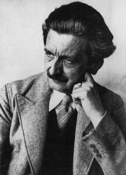 Adolf Brand, zwolennik wprowadzania chłopców w dorosłość poprzez seks z mężczyznami / autor: wikipedia
