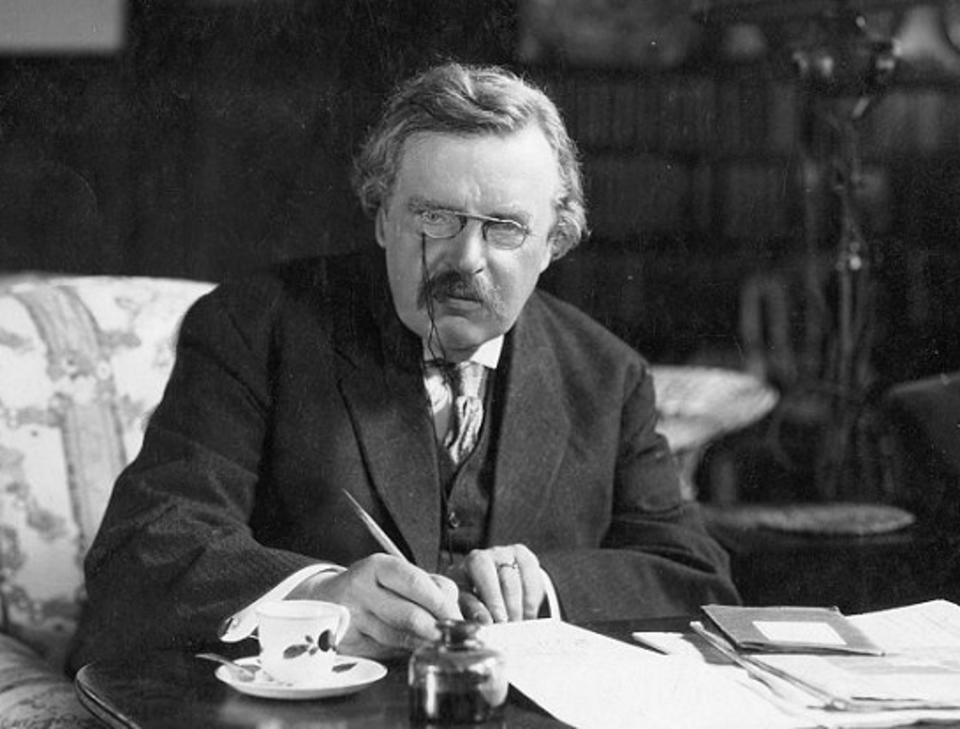 Chesterton / autor: wikimedia commons / wpolityce