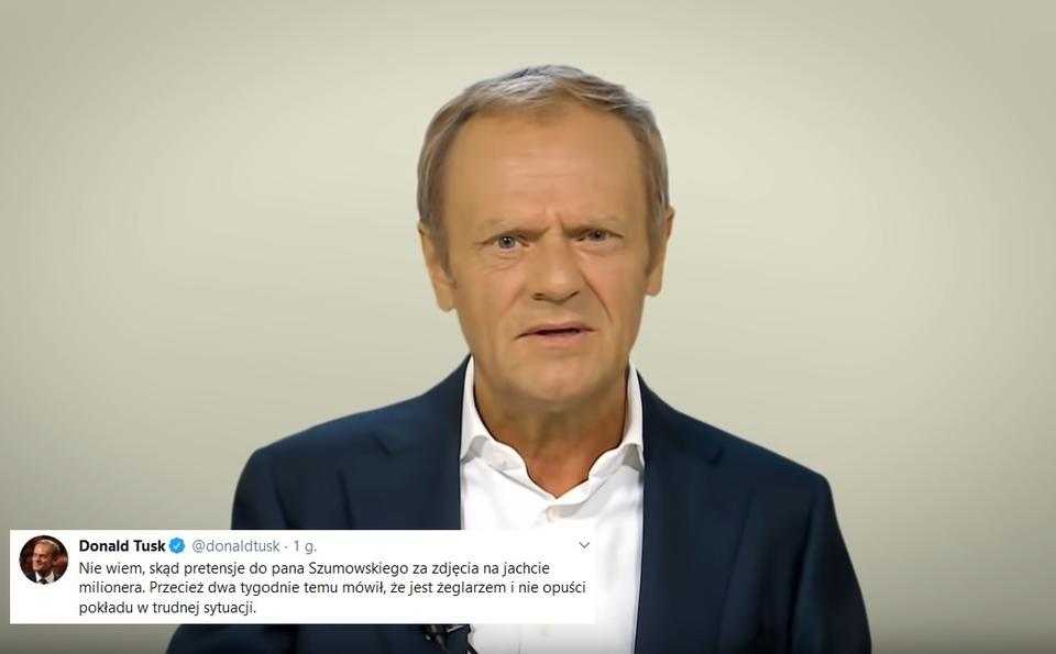 Donald Tusk / autor: screen YT/EPP