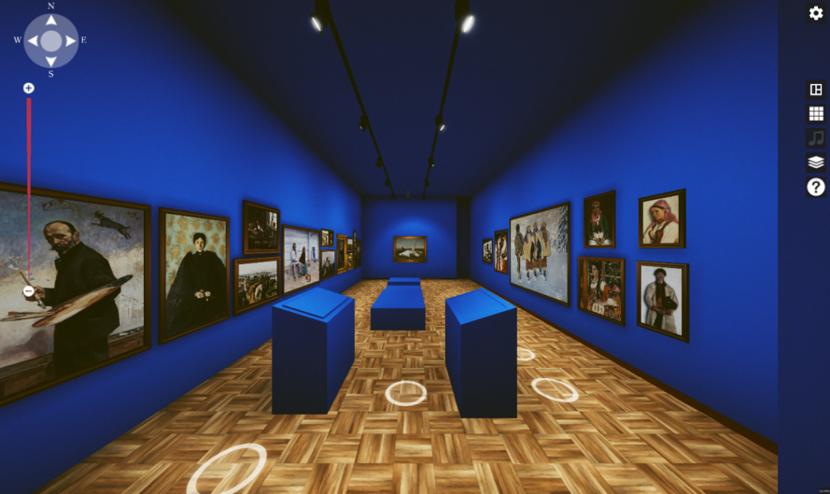 Wystawa wirtualna Muzeum Narodowe w Warszawie / autor: Huawei Polska