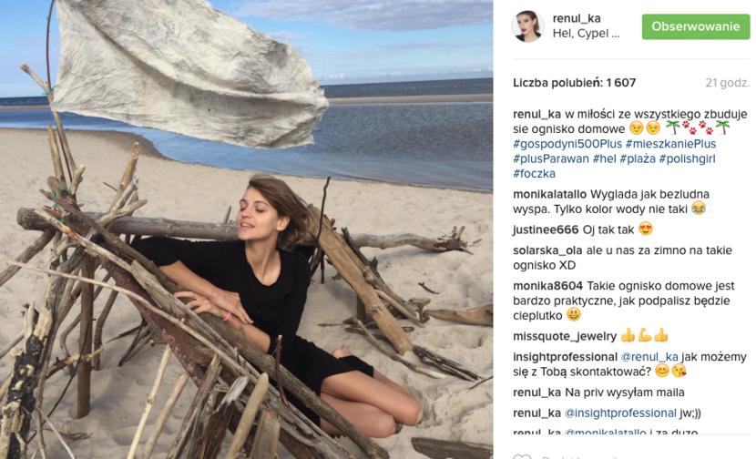 Instagram Renaty Kaczoruk