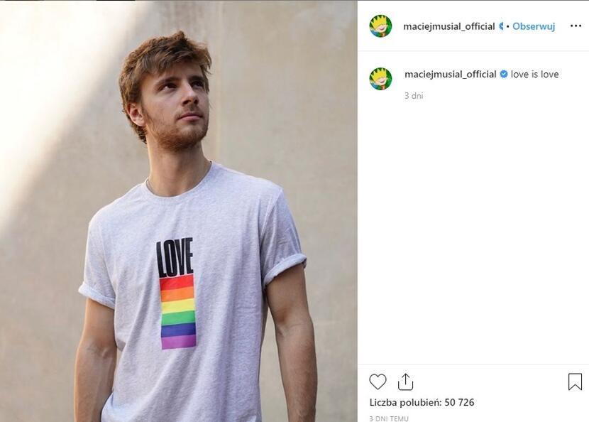autor: Instagram/ maciejmusial_official