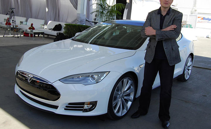 Elon Musk - By Maurizio Pesce from Milan, Italia - Elon Musk, Tesla Factory, Fremont (CA, USA), CC BY 2.0, https://commons.wikimedia.org/w/index.php?curid=38354348