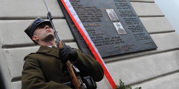 Odsłonięto Tablicę Ku Czci Matki Nieznanego żołnierza