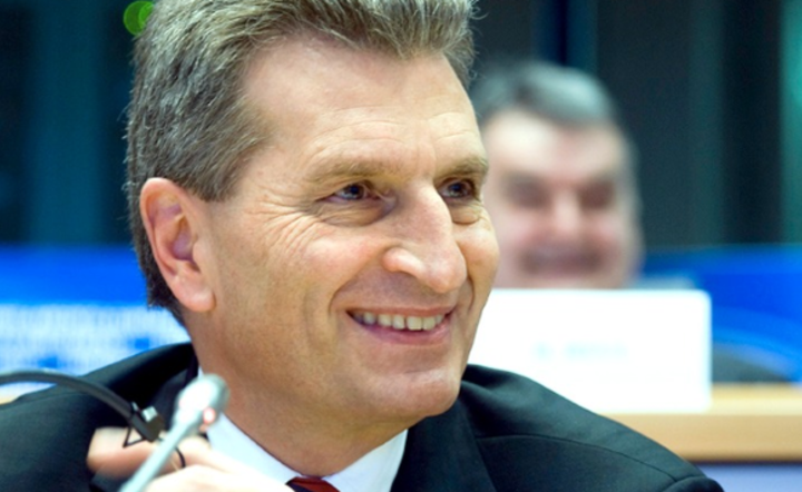 Günther Oettinger / autor: autor: Flickr/European Parliament