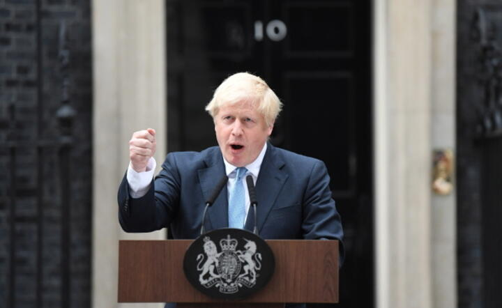 Boris Johnson / autor: EPA/PAP