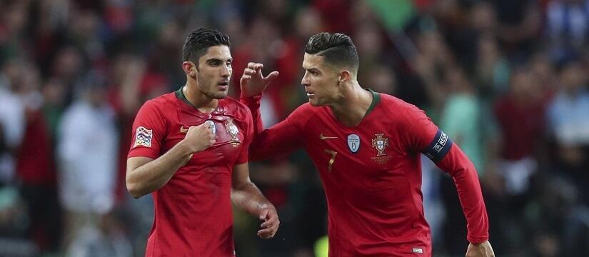 660c5ba29 Portugalia wygrała Ligę Narodów. Tym razem bohaterem nie był Cristiano  Ronaldo