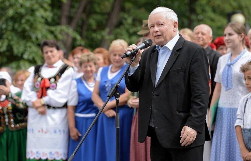 Jarosław Kaczyński / autor: PAP/Delmanowicz