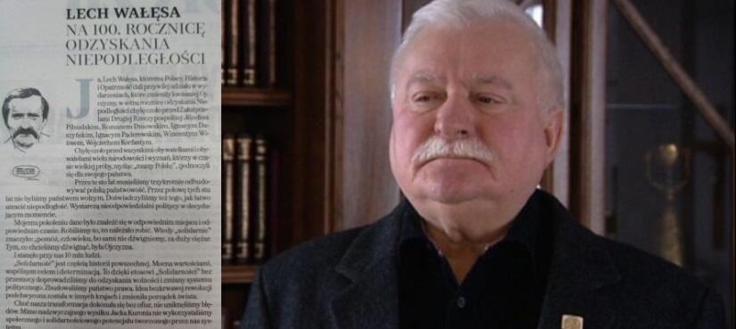Lech Wałęsa / autor: screen: TVN24