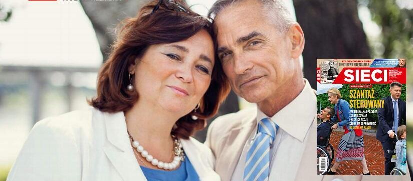 Agnieszka i Jan Maria Jackowscy / autor: screen sieci