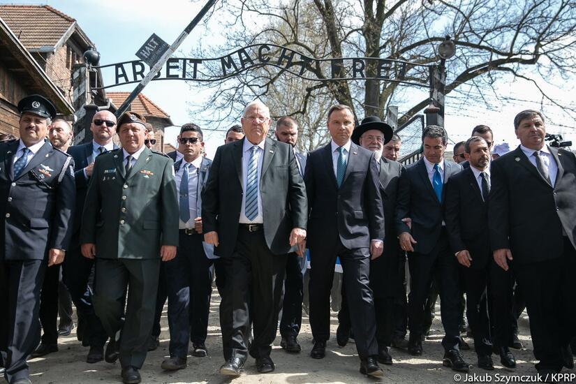 Marsz Żywych / autor: Fot. KPRP/Jakub Szymczuk