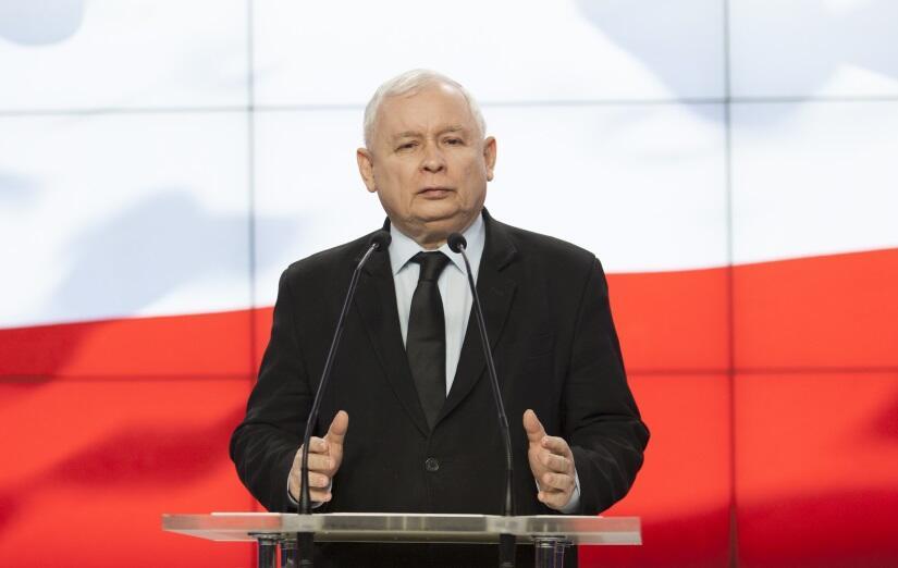 Jarosław Kaczyński / autor: Fratria