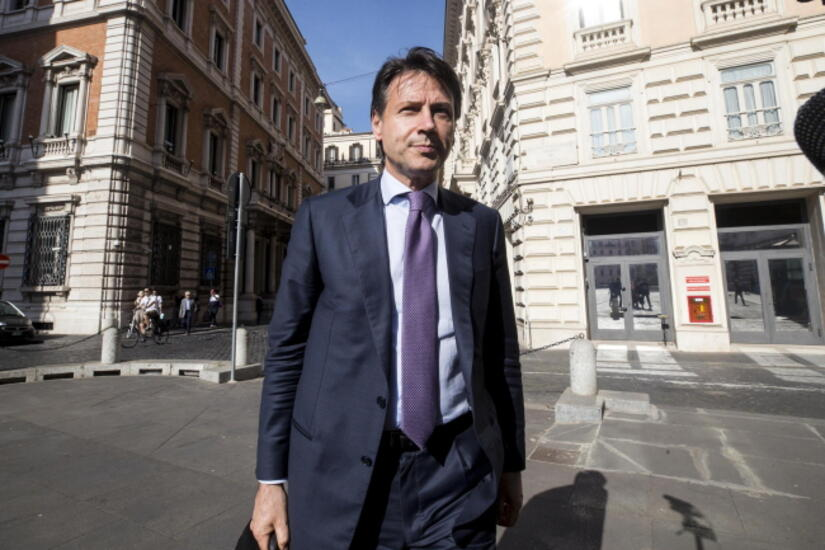 Conte Giuseppe / autor: EPA/PAP