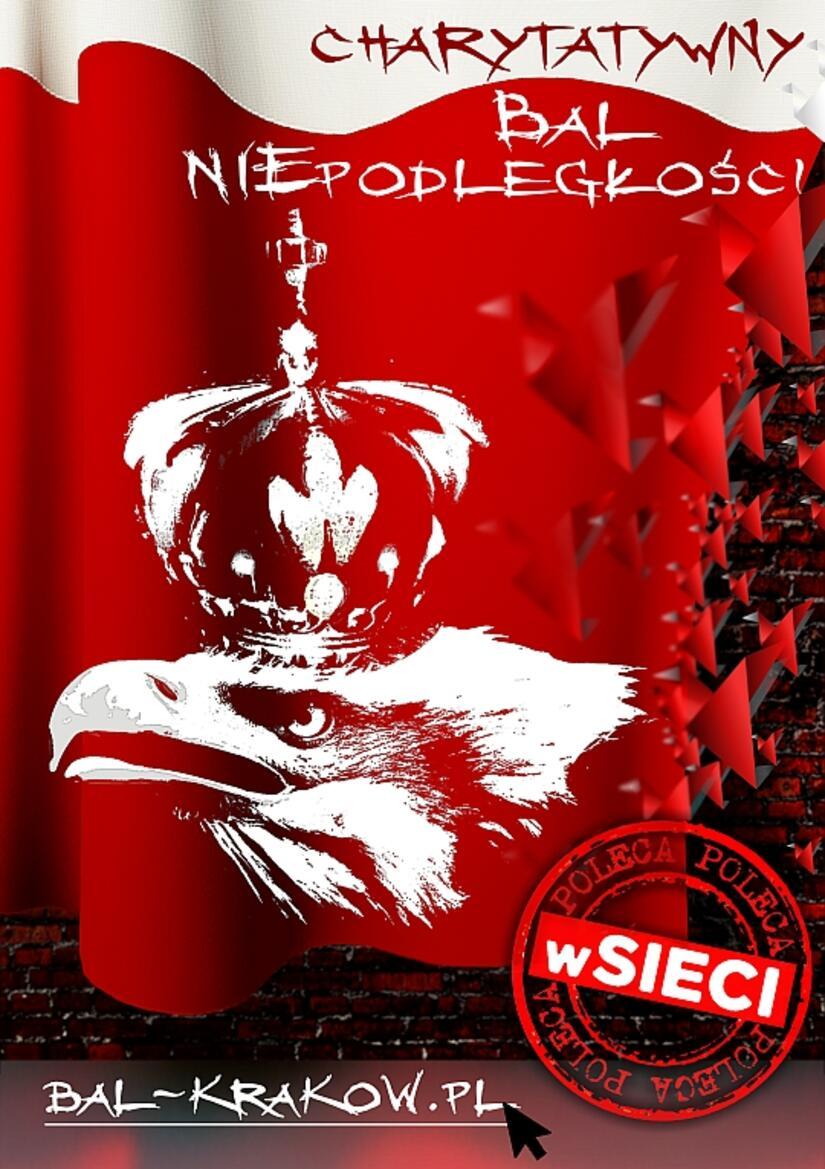 Zaproszenie Na Bal Niepodległości Do Krakowa