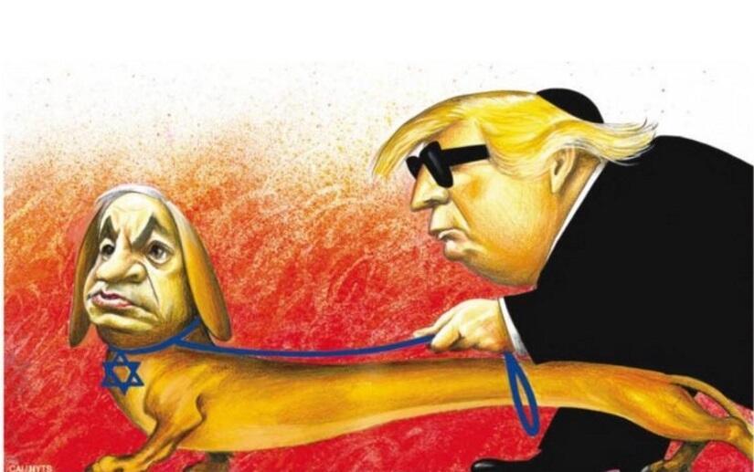 Karykatura z 'NYT' / autor: screen TT AJC
