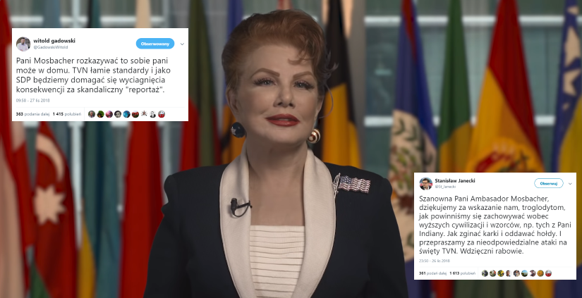 Georgette Mosbacher / autor: YouTube: US Embassy Warsaw