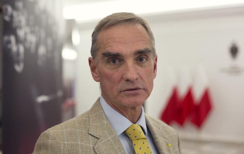 Jan Maria Jackowski, senator PiS / autor: Fratria