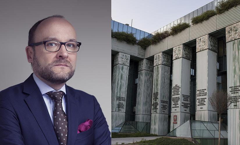 Sędzia Kamil Zaradkiewicz, p.o. I prezesa SN / autor: Fratria