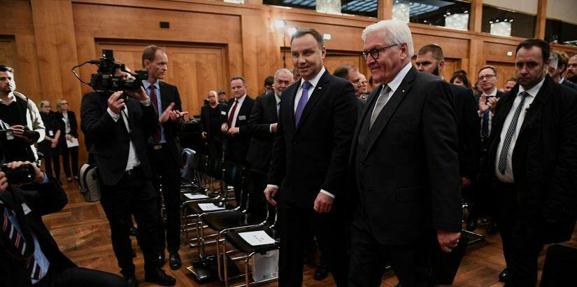 President Andrzej Duda took part in the 19th Polish-German Forum 'Europe 1918-2018: History with a future' hosted by the German Foreign Ministry