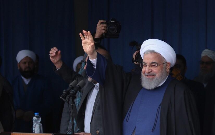 Prezydent Iranu Hassan Rouhani / autor: PAP/EPA