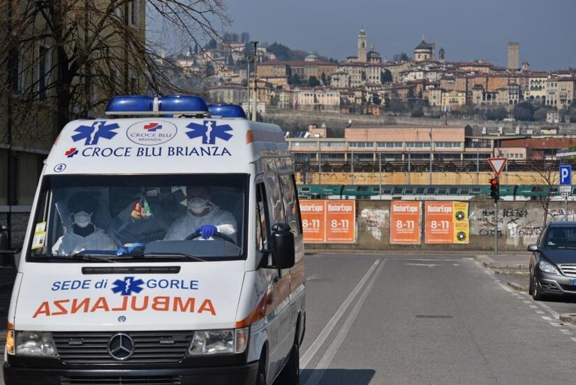 Wstrząsające świadectwo włoskiego lekarza / autor: EPA/PAP