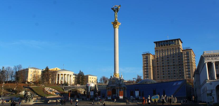 Kijów, Plac Niepodległości