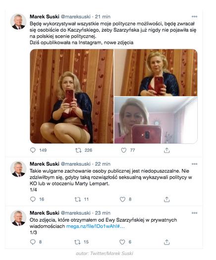 Półnagie zdjęcia radnej na koncie Suskiego! Włamanie na konto posła - wGospodarce.pl
