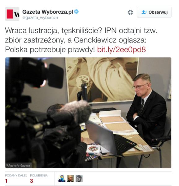 twitter/wyborcza.pl