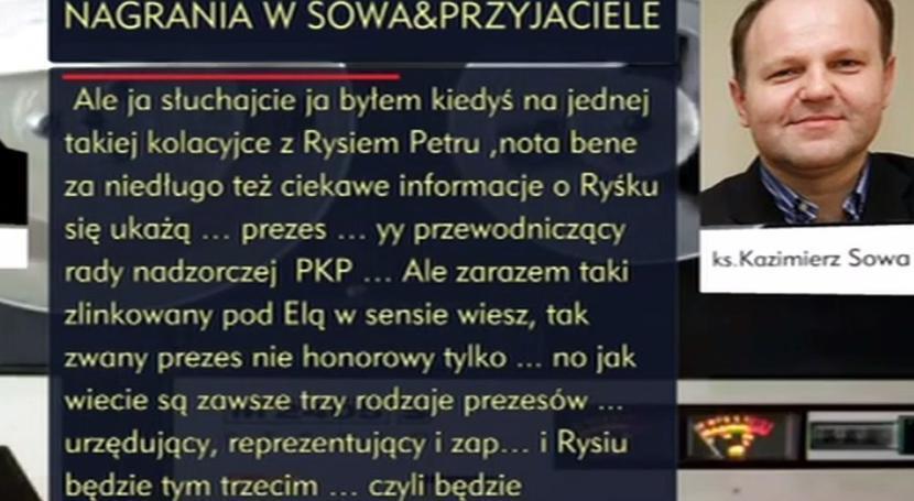 taśmy ks. Sowa / autor: TVP INFO