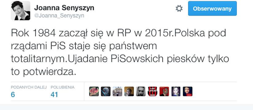 Fot. Joanna Senyszyn/twitter