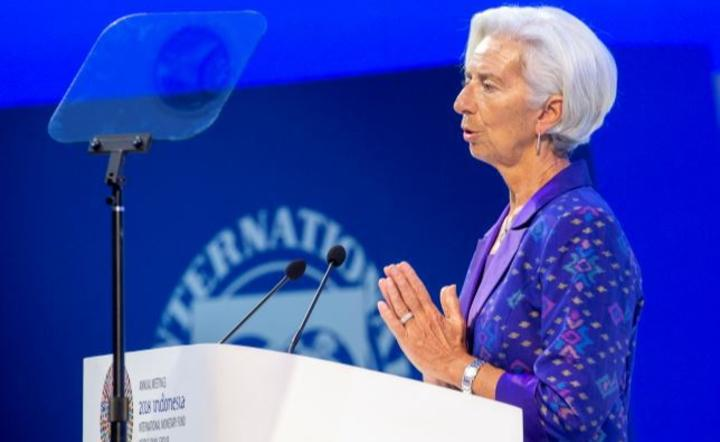 Christine Lagarde / autor: PAP/EPA/MADE NAGI