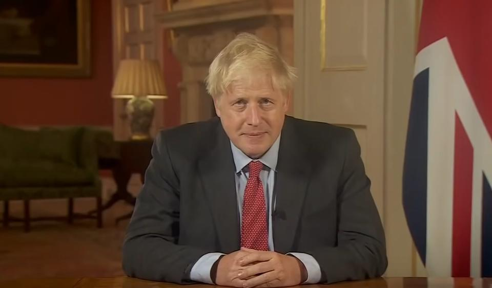 Boris Johnson / autor: screen youtube/BBC News