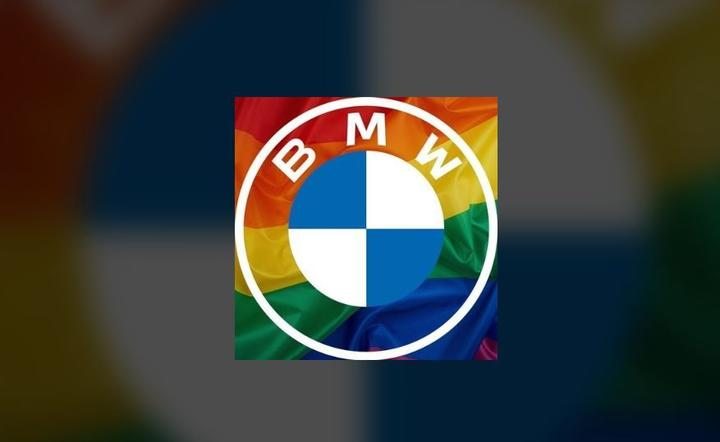 BMW LGBT pride / autor: screen, Facebook, Fratria